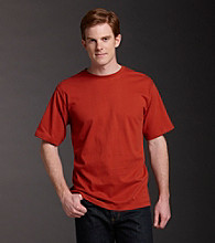 Ruff Hewn Men's Short Sleeve Sueded Crewneck Tee