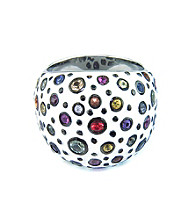 Effy Collection® Sterling Silver Multicolor Gemstone Ring