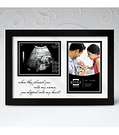 Prinz® Black New Addition Baby Frame