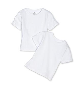 Calvin Klein Boys' 4-18 White 2-pk. Crewneck Tees