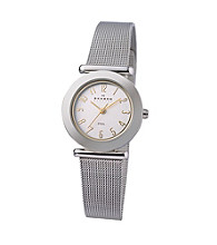 Skagen Denmark Two-Tone Dial Watch