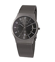 Skagen Denmark Men's Titanium Gray Watch