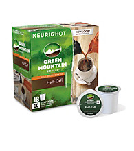Green Mountain Coffee® Half-Caff 18-pk. K-Cup® Portion Pack