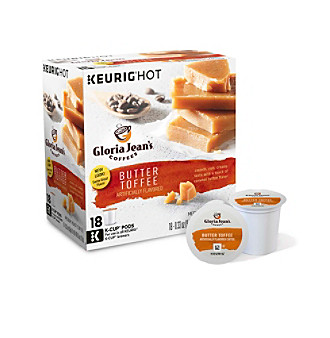 Gloria Jean's Butter Toffee 18-pk. K-Cup Portion Pack