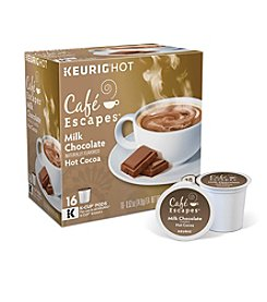 Keurig Café Escapes® Milk Chocolate Hot Cocoa 16-pk. K-Cup® Portion Pack