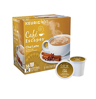Café Escapes® Chai Latte Specialty Tea 16-pk. K-Cup® Portion Pack