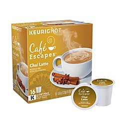 Keurig Café Escapes® Chai Latte Specialty Tea 16-pk. K-Cup® Portion Pack