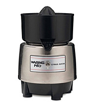 Waring Pro®Professional Citrus Juicer - Stainless Steel and Black