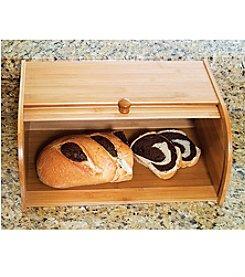 Lipper International Bamboo Roll-top Bread Box