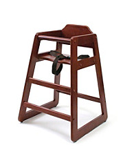 Lipper International Child's Restaurant-style High Chair