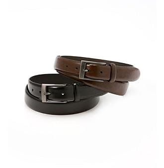 John Bartlett Statements Men's Leather Belt
