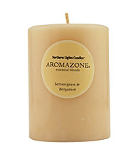 Fragrance Net 3x4 inch Essential Blend Pillar Candle