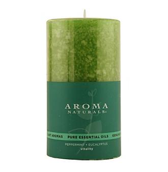 Aroma Naturals Romance Aromatherapy Pillar Candle