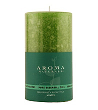 Fragrance Net 2.75x5 inch Aromatherapy Pillar Candle