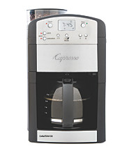 Capresso® Coffee Team GS Grind and Brew Coffee Maker - Stainless with Black