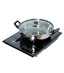 Total Chef Induction Cooktop - Black