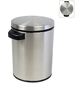 Nine Stars Infrared Touchless Automatic 1.3-gallon Trash Can - Stainless *