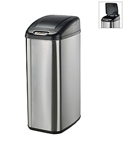 Nine Stars Infrared Touchless Automatic 13.2-Gallon Trash Can