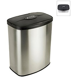 Nine Stars Infrared Touchless Automatic 2.1-Gallon Trash Can - Stainless *