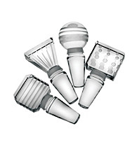 Mikasa® Cheers Barware Set of 4 Glass Bottle Stoppers