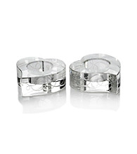 Mikasa® Love Story Set of 2 Tea Light Candleholders