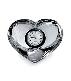 Mikasa® Love Story Glass Clock