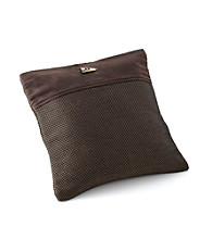 Chicology® Audrick Set of 2 Pillow Covers with Decorative Tassel - Black Coffee