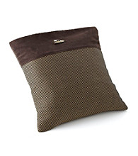 Chicology® Audrick Set of 2 Pillow Covers with Decorative Tassel - Black Khaki