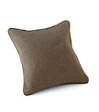 Chicology® Audrick Set of 2 Pillow Covers with Suede Backing - Black Khaki