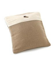 Chicology® Audrick Set of 2 Pillow Covers with Decorative Tassel - Cappuccino