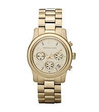 Michael Kors® Women's Runway Watch - Gold