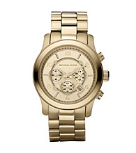 Michael Kors® Men's Oversized Chronograph Watch - Goldtone