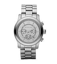 Michael Kors® Men's Oversized Chronograph Watch - Silvertone