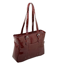 Siamod Emanuele Ladies' Leather Laptop Tote