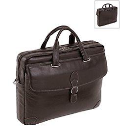 Siamod Borella Leather Small Laptop Brief Case