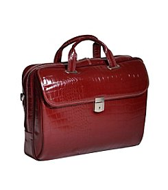 Siamod Servano Ladies' Small Leather Laptop Brief Case