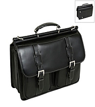 Siamod Signorini Leather Double Compartment Laptop Case