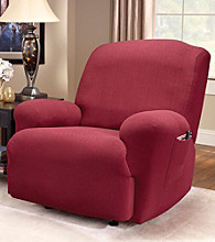Sure Fit® Stretch Greek Key 1-pc. Recliner Slipcover