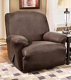 Sure Fit® Stretch Faux Leather 1-pc. Recliner Slipcover