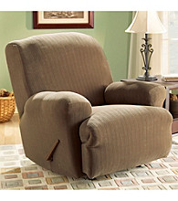 Sure Fit® Stretch Pinstripe Recliner Slipcover