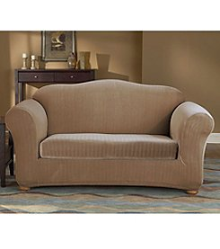 Sure Fit® Stretch Pinstripe Sofa & Loveseat Separate Seat Slipcovers