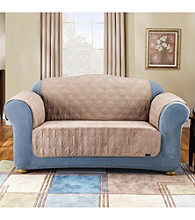 Sure Fit® Quilted Soft Suede Pet Furniture Cover