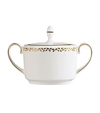 Vera Wang® Gilded Leaf Covered Sugar Bowl