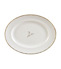 Vera Wang® Gilded Leaf Medium Platter