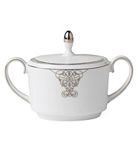 Vera Wang® Imperial Scroll Covered Sugar Bowl