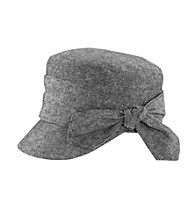 San Diego Hat Co.® Cadet Cap with Side Bow -Black