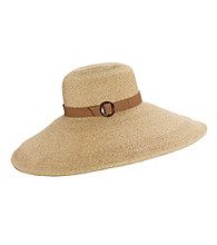 San Diego Hat Co.® Braided Hat with Belt