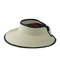 San Diego Hat Co.® Visor with Bow