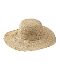 San Diego Hat Co.® Raffia Hat - Natural