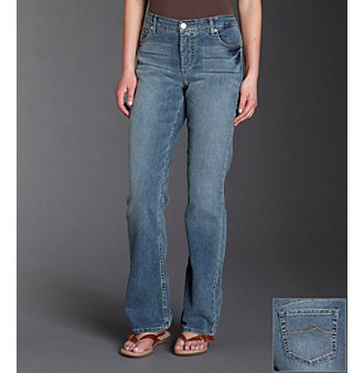 Ruff Hewn Classic Rise Bootcut Jeans - Baltic Wash